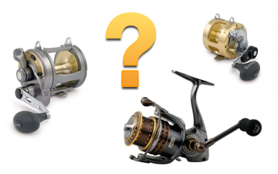 Разновидности рыболовных катушек