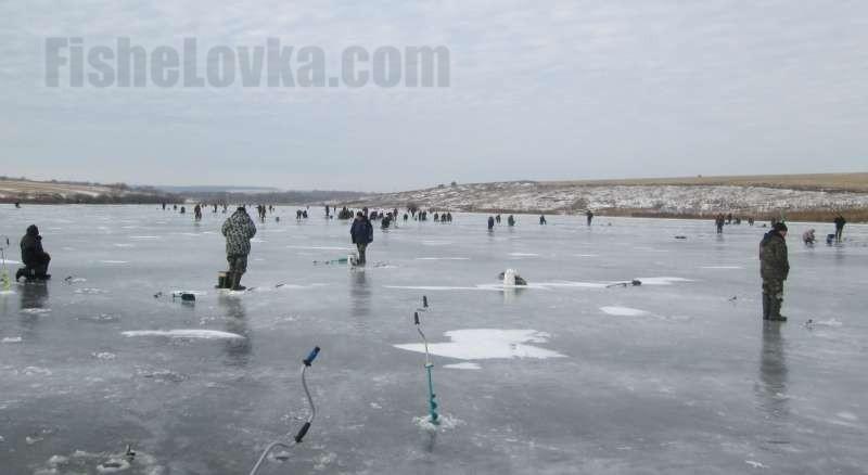Радость зимней рыбалки.