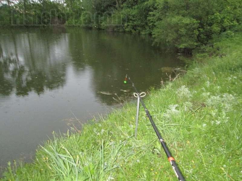 Донка-закидушка с поплавком Рыбалка - Информационно 98