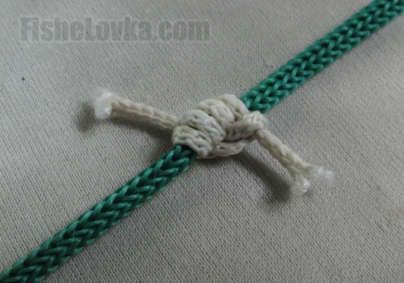 Простой скользящий узел.