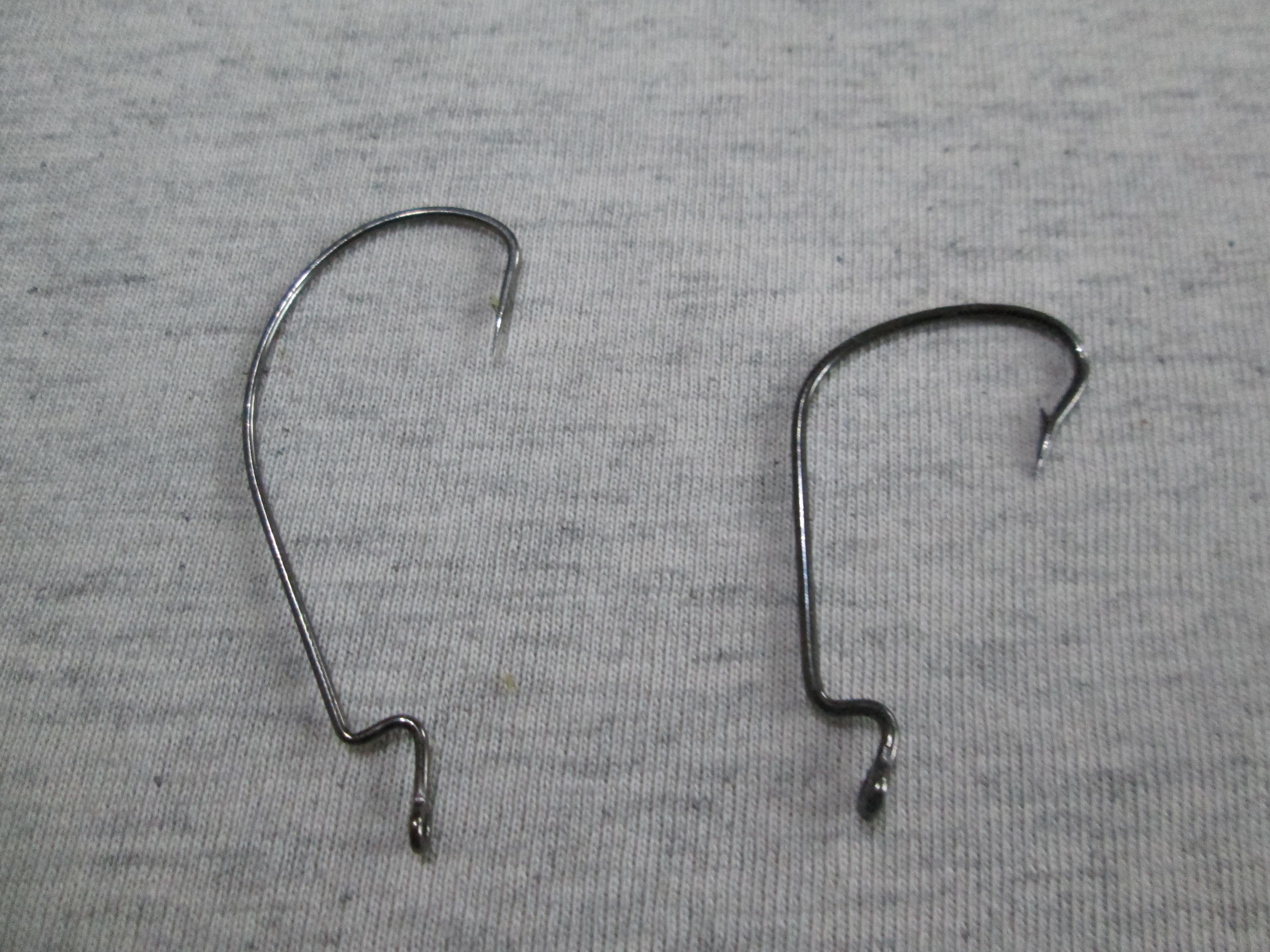 Виды офсетных крючков и их применение
