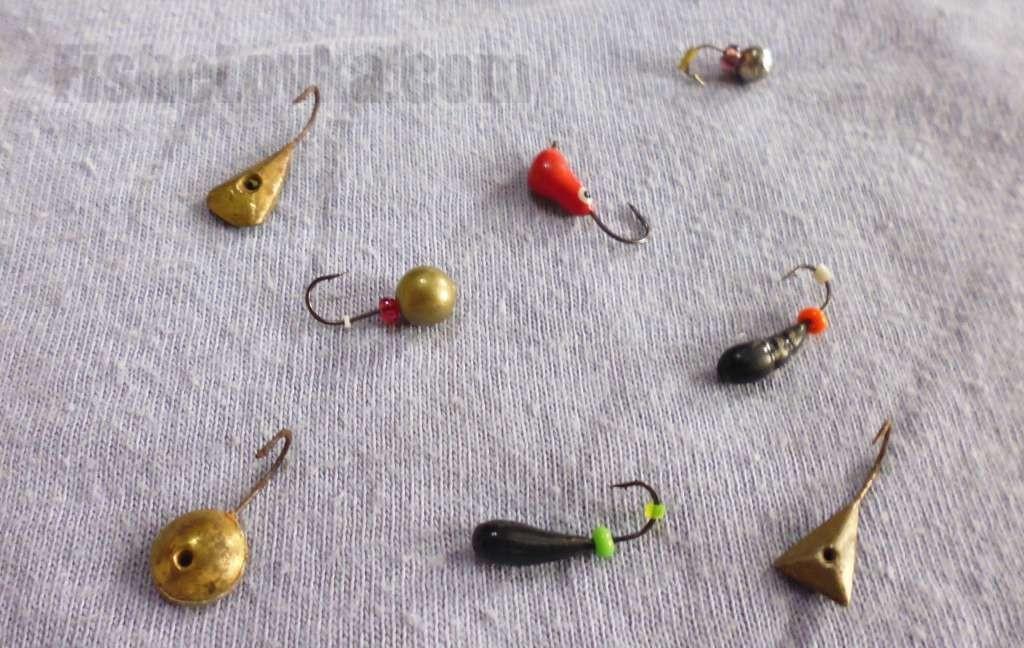 Разновидности мормышек для зимней рыбалки