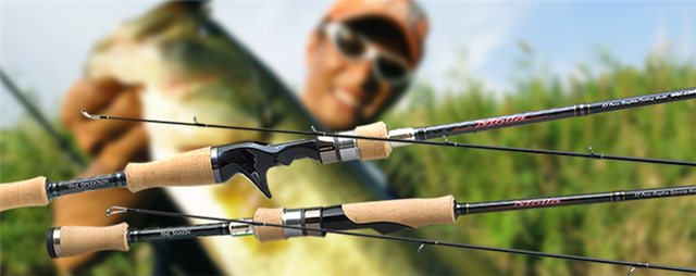 Для твичинга применяются и простые спиннинги, и кастинговые палки.