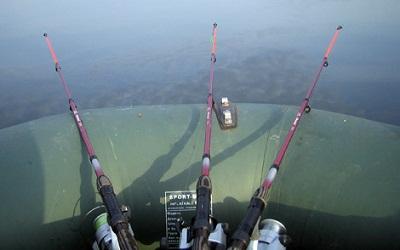 Результативня рыбалка на фидер с лодки