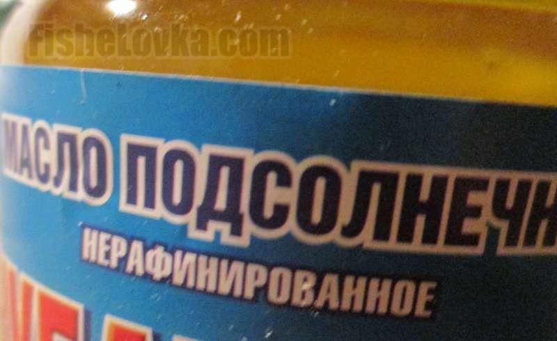 Добавим немного нерафинированного масла.