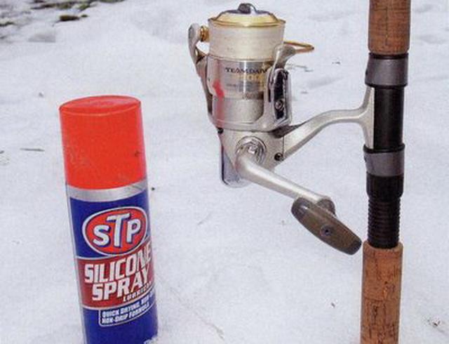 Пример морозостойкой пропитки для лески.