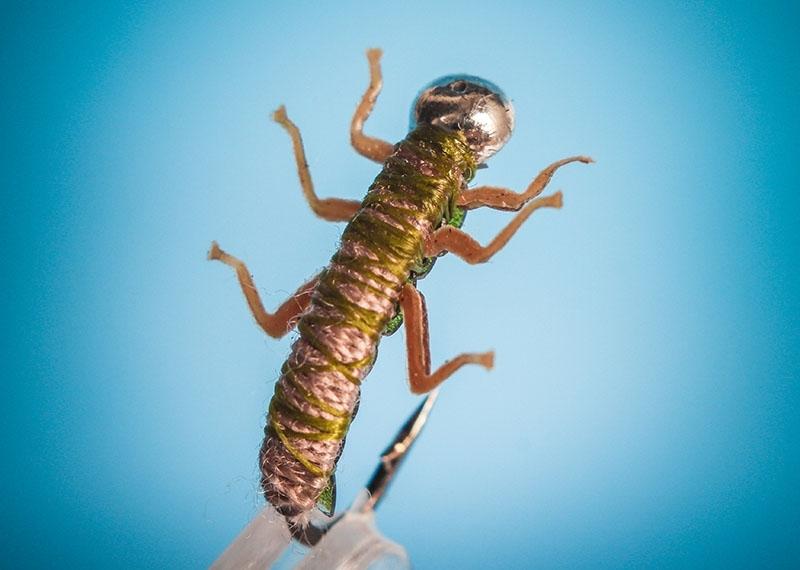 Мормышка в виде жука.