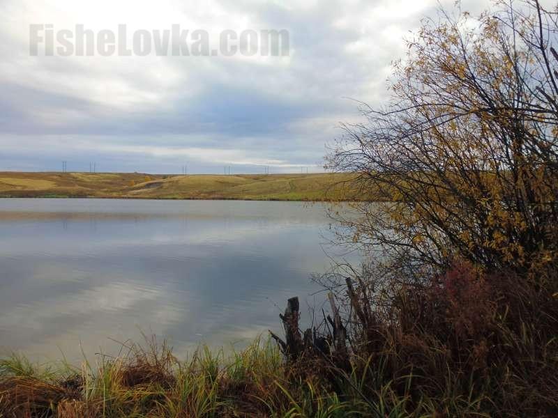 Осенью на пруду.