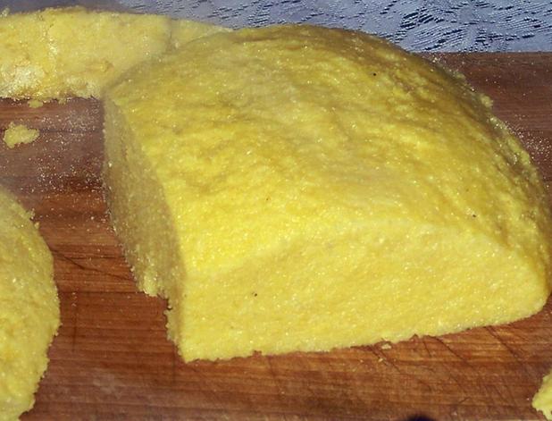 Тесто из пшенки.