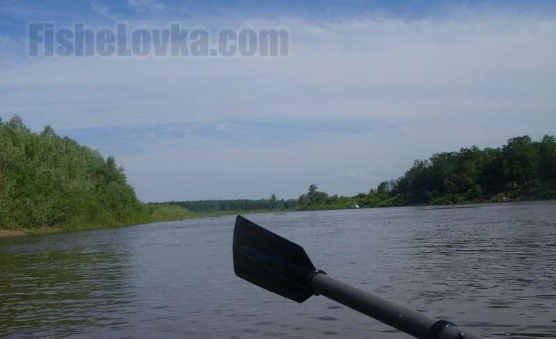 После снятия нерестового запрета можно ловить с лодки.