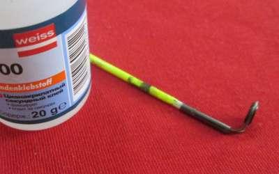 Сломался кончик спиннинга: ремонт своими руками этой и других поломок удилища