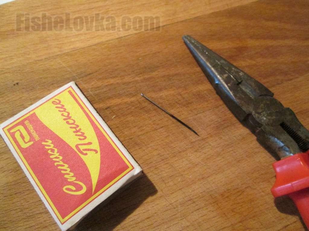 Как сделать крючки из проволоки