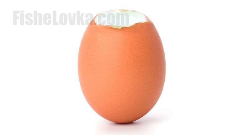 Подготовленное яйцо.