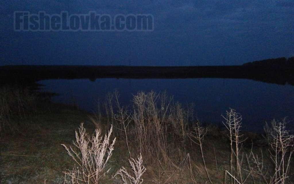 Ловля карася ночью. Светящийся поплавок