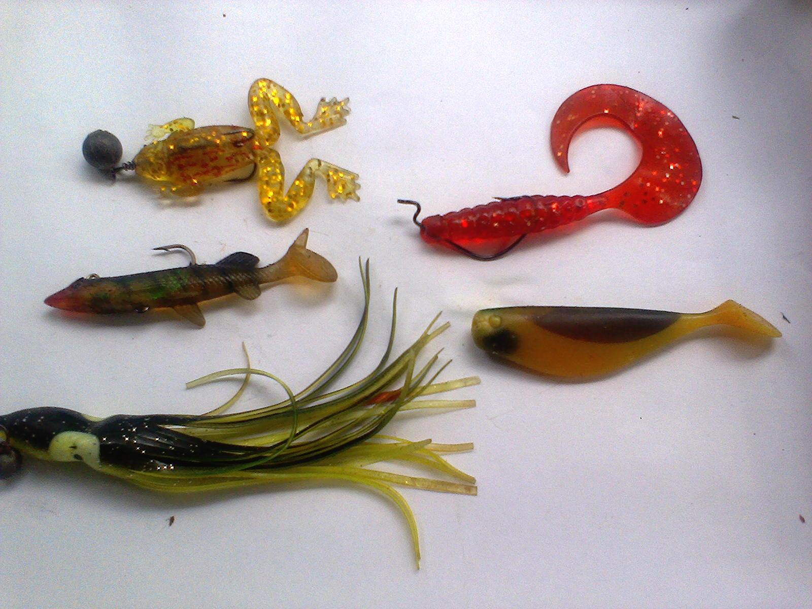 Плавающие силиконовые приманки — Здесь рыба