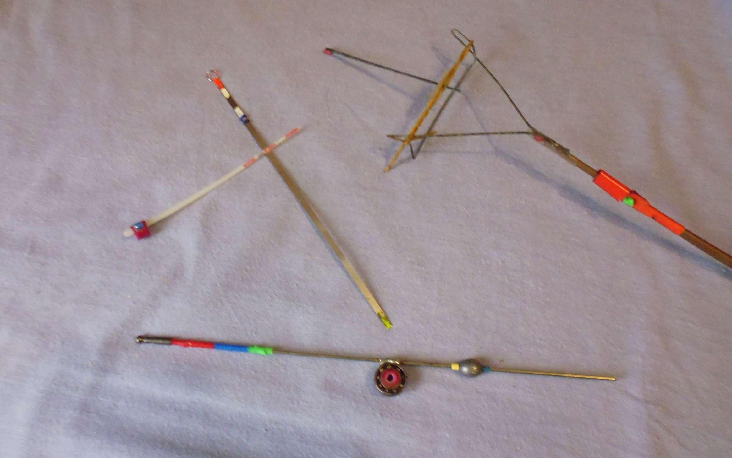Простые варианты изготовления кивков для зимней рыбалки