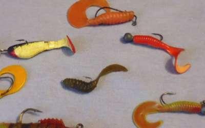 Особенности применения резины на зимней рыбалке