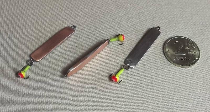 Изготовление зимних блесен для разных видов хищных рыб